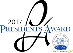 2017 carrier presidents award logo