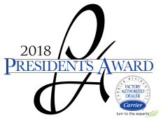 2018 Carrier Presidents award logo